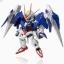 95520 Nxedge Style [MS UNIT] 00 Gundam & 0 Raiser Set (Completed)