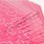 ขนาด 28x42 cm.ซองไปรษณีย์พลาสติกสีชมพู ลายหัวใจหลายดวง (แพ็ค 100 ใบ) thumbnail 7