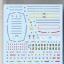 (เหลือ 1 ชิ้น รอเมล์ฉบับที่2 ยืนยัน ก่อนโอน) Gundam Decal 60 MG Gundam Ver.2.0 Real Type Color