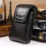 กระเป๋าร้อยเข็มขัด สำหรับใส่โทรศัพท์ พาสปอร์ต และอุปกรณ์ต่างๆ ทรงตั้ง