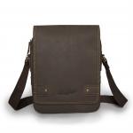กระเป๋าสะพายข้าง เป็นกระเป๋าหนังแท้ ขนาดเหมาะสำหรับใส่ I-pad แท็บเล็ต