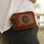 กระเป๋าร้อยเข็มขัด ขนาด 7 นิ้ว สำหรับใส่ โทรศัพท์ พาร์สปอต กระเป๋าสตางค์ (สีน้ำตาล) thumbnail 9