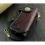 กระเป๋าสตางค์หนังแท้ (หนังฟอกฝาด) ทรงยาว ตอกลายแถบแดง สำหรับผู้ชาย สำเนา thumbnail 2