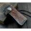 กระเป๋าสตางค์หนังแท้ (หนังฟอกฝาด) ทรงยาว ตอกลายแถบแดง สำหรับผู้ชาย สำเนา thumbnail 1