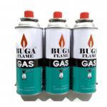 แก๊สกระป๋อง แก๊สสำหรับเติมเตาแก๊สพกพา ขนาด 375 ml ( 1 แพค 3 กระป๋อง )