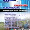 แนวข้อสอบนายช่างเทคนิค กรมทรัพยากรน้ำบาดาล อัพเดทใหม่ 2560