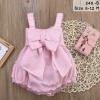 เสื้อผ้าเด็ก ชุดสีชมพู 6-12 เดือน