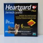 Heartgard นน.ไม่เกิน 11 กก. Exp.08/19
