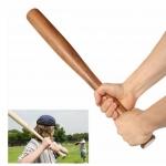 ไม้เบสบอล เนื้อไม้แท้ ขนาด 30 นิ้ว อุปกรณ์กีฬา พกติดบ้านหรือพกติดรถ เพิ่อบ้องกันอันตราย