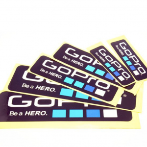 Gopro Sticker 6pcs.