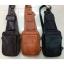 กระเป๋าสะพายเฉียง หนังแท้ สามารถใส่I-Pad อาวุธปืน อุปกรณ์เดินป่า มีดพกได้