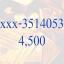 Sold out เบอร์มหาโชค xxx - 3514053