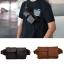 กระเป๋าคาดอกคาดเอว หนังแท้ ใช้ได้ทุกเพศทุกวัย