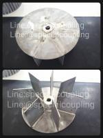 """บผลิตใบพัดลมสแตนเลส304 ขนาด od 9"""" หนา 4""""1/2 พร้อมบาลานส์ ขายปลีกและส่ง ส่งขนส่ง ฟรีค่ะ"""