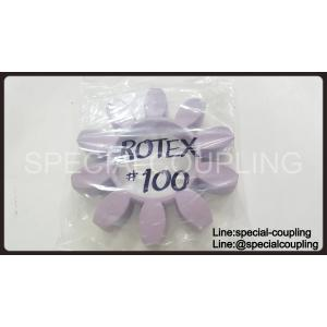 Rotex size.100 Violet Spider only (ยางยอย Rotex size.100 สีม่วง ความแข็ง 98 shore)