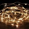 ไฟแฟรี่ ไฟลวด LED ตกแต่ง หักงอได้ ยาว 10 เมตร สีวอร์มไวท์