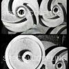 รับผลิตใบพัดปั้มน้ำเหล็กหล่อแบบเปิด ขนาด OD 6 นิ้ว หนา 30 มิล รุเพลา 20 มิล