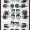ยางรองแท่นเครื่องเกลียวนอกสองด้าน ขนาด od 45mm L 34 mm เกลียวm.8 ขนาด od 55 mm L 40 mm เกลียวm.10 ขายปลีกและส่ง ส่งขนส่ง ฟรีค่ะ