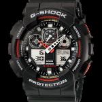 นาฬิกา CASIO G-SHOCK STANDARD ANALOG-DIGITAL รุ่น GA-100-1A4 SERIES GA-100 Three-Eye Dial ของแท้ รับประกัน 1 ปี