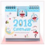ปฏิทินตั้งโต๊ะ Doraemon 2018 #โดเรม่อน