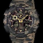 นาฬิกา CASIO G-SHOCK รุ่น GA-100CM-5A CAMOUFLAGE SERIES ของแท้ รับประกัน 1 ปี SPECIAL COLOR ลายพรางทหาร