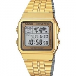 นาฬิกา CASIO ดิจิตอล สีทอง รุ่น A500WGA-9 STANDARD DIGITAL RETRO CLASSIC ของแท้ รับประกันศูนย์ 1 ปี