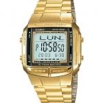 นาฬิกา CASIO ดิจิตอล สีทอง รุ่น DB-360G-9 STANDARD DIGITAL RETRO CLASSIC ของแท้ รับประกันศูนย์ 1 ปี