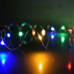 ไฟแฟรี่ ไฟลวด LED ตกแต่ง หักงอได้ ยาว 5 เมตร สี RGB
