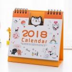 ปฏิทินตั้งโต๊ะลายการ์ตูน 2018 #ลูกแมวน้อย