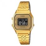 นาฬิกา CASIO ดิจิตอล สีทอง รุ่น LA680WGA-9B STANDARD DIGITAL RETRO CLASSIC ของแท้ รับประกันศูนย์ 1 ปี