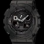 นาฬิกา CASIO G-SHOCK STANDARD ANALOG-DIGITAL รุ่น GA-100-1A1 SERIES GA-100 Three-Eye Dial (DARK KNIGHT) ของแท้ รับประกัน 1 ปี