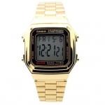 นาฬิกา CASIO ดิจิตอล สีทอง รุ่น A178WGA-1 STANDARD DIGITAL RETRO CLASSIC ของแท้ รับประกันศูนย์ 1 ปี