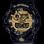 นาฬิกา CASIO G-SHOCK STANDARD ANALOG-DIGITAL G700 SERIES รุ่น GA-710GB-1A (สีดำทอง) ของแท้ รับประกัน 1 ปี