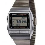 นาฬิกา CASIO ดิจิตอล สีเงินสายสแตนเลส รุ่น DB-380-1 STANDARD DIGITAL RETRO CLASSIC ของแท้ รับประกันศูนย์ 1 ปี