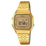 นาฬิกา CASIO ดิจิตอล สีทอง รุ่น LA680WGA-9 STANDARD DIGITAL RETRO CLASSIC ของแท้ รับประกันศูนย์ 1 ปี