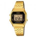 นาฬิกา CASIO ดิจิตอล สีทอง รุ่น LA680WGA-1 STANDARD DIGITAL RETRO CLASSIC ของแท้ รับประกันศูนย์ 1 ปี