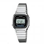 นาฬิกา CASIO ดิจิตอล สีเงินมินิ รุ่น LA670WA-1 STANDARD DIGITAL RETRO CLASSIC ของแท้ รับประกันศูนย์ 1 ปี