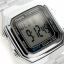 นาฬิกา CASIO ดิจิตอล สีเงินสายสแตนเลส รุ่น A178WA-1 STANDARD DIGITAL RETRO CLASSIC ของแท้ รับประกันศูนย์ 1 ปี thumbnail 3