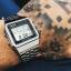นาฬิกา CASIO ดิจิตอล สีเงินสายสแตนเลส รุ่น A500WA-1 STANDARD DIGITAL RETRO CLASSIC ของแท้ รับประกันศูนย์ 1 ปี thumbnail 8