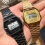 นาฬิกา CASIO ดิจิตอล สีทอง รุ่น A168WG-9 STANDARD DIGITAL RETRO CLASSIC ของแท้ รับประกันศูนย์ 1 ปี thumbnail 4