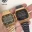 นาฬิกา CASIO ดิจิตอล สีดำทอง รุ่น A168WEGB-1B STANDARD DIGITAL ของแท้ รับประกันศูนย์ 1 ปี thumbnail 7