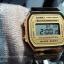 นาฬิกา CASIO ดิจิตอล สีทอง รุ่น A168WG-9 STANDARD DIGITAL RETRO CLASSIC ของแท้ รับประกันศูนย์ 1 ปี thumbnail 5