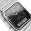 นาฬิกา CASIO ดิจิตอล สีเงินสายสแตนเลส 2 ระบบ รุ่น AQ-230A-1D STANDARD ANALOG DIGITAL RETRO CLASSIC ของแท้ รับประกันศูนย์ 1 ปี thumbnail 2
