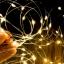 ไฟแฟรี่ ไฟลวด LED ตกแต่ง หักงอได้ ยาว 5 เมตร สีวอร์มไวท์ thumbnail 1
