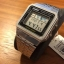 นาฬิกา CASIO ดิจิตอล สีเงินสายสแตนเลส รุ่น A500WA-1 STANDARD DIGITAL RETRO CLASSIC ของแท้ รับประกันศูนย์ 1 ปี thumbnail 4