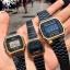 นาฬิกา CASIO ดิจิตอล สีดำทอง รุ่น A168WEGB-1B STANDARD DIGITAL ของแท้ รับประกันศูนย์ 1 ปี thumbnail 5