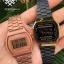นาฬิกา CASIO ดิจิตอล สีดำทอง รุ่น A168WEGB-1B STANDARD DIGITAL ของแท้ รับประกันศูนย์ 1 ปี thumbnail 2