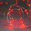 ไฟแฟรี่ ไฟลวด LED ตกแต่ง หักงอได้ ยาว 2 เมตร สีแดง thumbnail 1