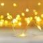 ไฟแฟรี่ ไฟลวด LED ตกแต่ง หักงอได้ ยาว 2 เมตร สีเหลือง thumbnail 1