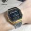นาฬิกา CASIO ดิจิตอล สีดำทอง รุ่น A168WEGB-1B STANDARD DIGITAL ของแท้ รับประกันศูนย์ 1 ปี thumbnail 4